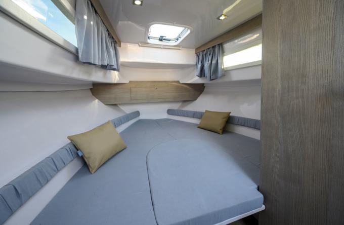cabina gozzo 8 metri