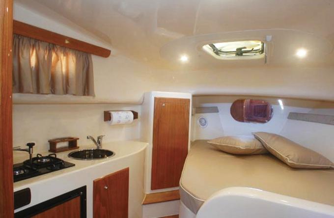 Gozzo Libeccio 9 - Cabin