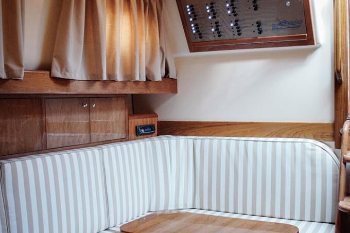 Gozzo Libeccio 9.5 - Cabin